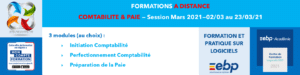 AT FORMATION - COMPTABILITE PAIE MON COMPTE FORMATION CPF SESSION MARS 2021 A DISTANCE