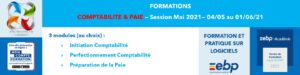AT FORMATION - COMPTABILITE PAIE MON COMPTE FORMATION CPF SESSION mai 2021 A DISTANCE