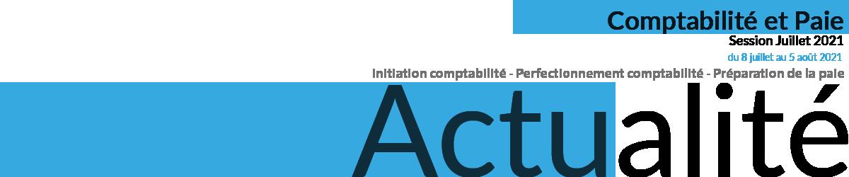 actualité fromation perfectionnement initiation comptabilité juillet