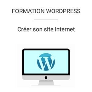 formation wordpress créer son site internet