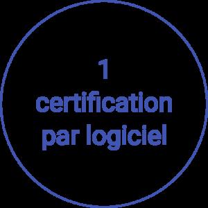 1 certification icdl par logiciel