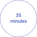 35 minutes