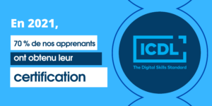AT FORMATION - CERTIFICATION ICDL - TAUX D'OBTENTION